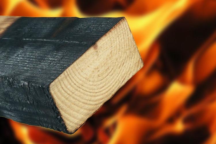 Огнестойкость дерева
