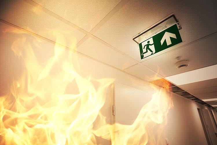 Табличка-указатель для эвакуации