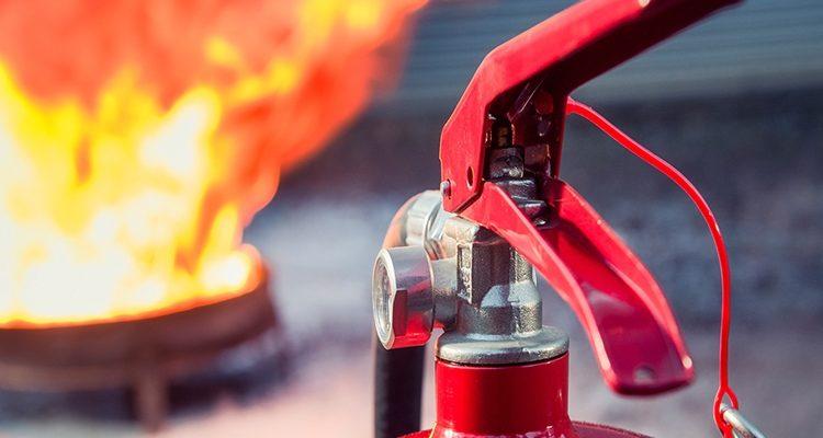 Заполнение журнала учета огнетушителей