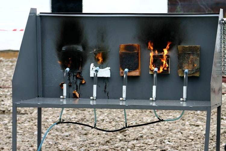 Определение классов пожарной опасности
