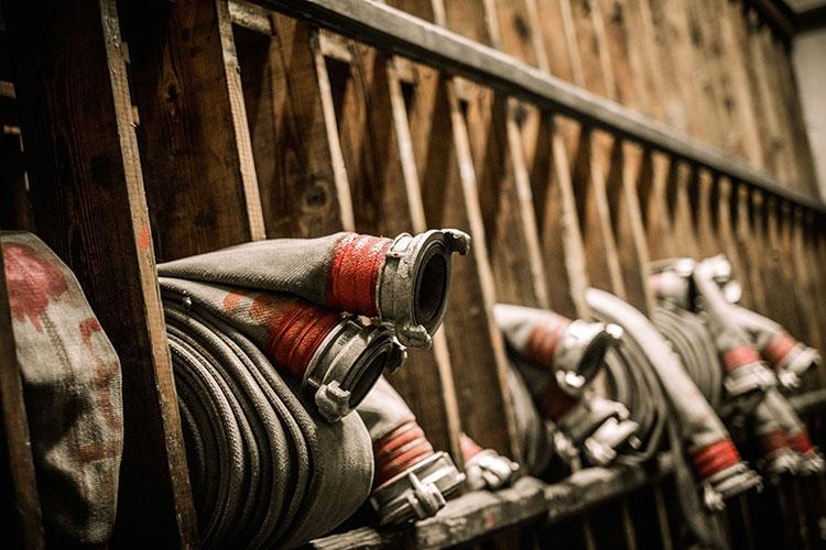 Хранение пожарных рукавов