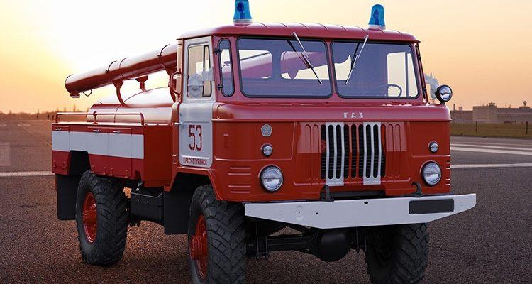 Пожарная машина ГАЗ-66