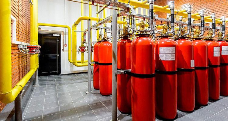 Автоматическая установка пожаротушения