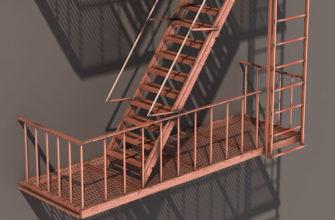 Лестница 3-го типа